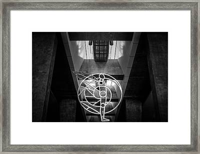 Man's Sphere Of Life Framed Print
