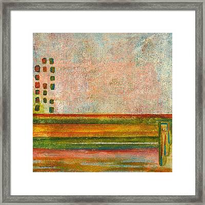 Mansard Framed Print