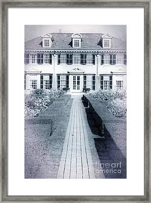 Mansion Framed Print by Edward Fielding