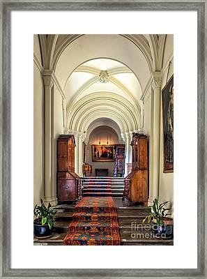 Mansion Hallway IIi Framed Print by Adrian Evans