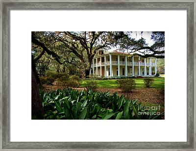 Mansion Framed Print