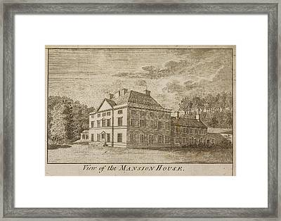 Mansion House Of Close House Estate Framed Print by British Library