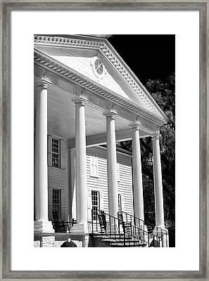 Mansion Framed Print by John Rizzuto
