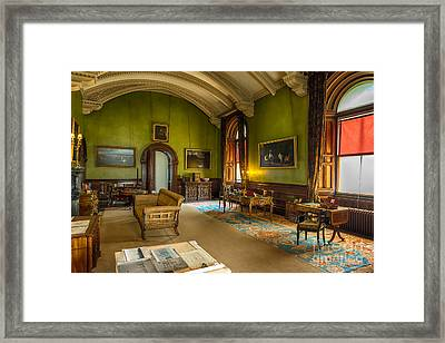 Mansion Lounge Framed Print by Adrian Evans