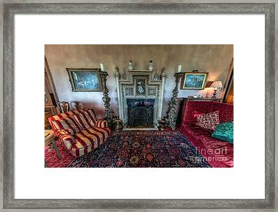 Mansion Sitting Room Framed Print