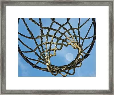 Many Baskets Made Many Moons Ago Framed Print by Lena Wilhite