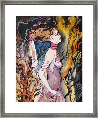 Many Centuries Ago Framed Print by Valentina Plishchina