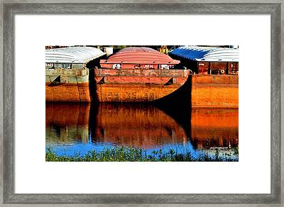 Many Miles Framed Print