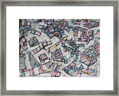 Many Steps Every Way Framed Print by Hari Thomas