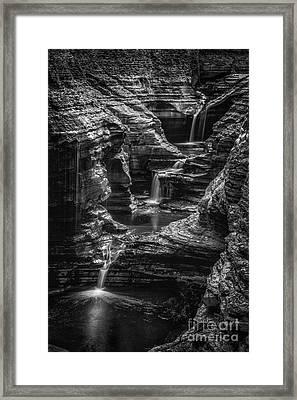 Many Tears Framed Print by Todd Bielby