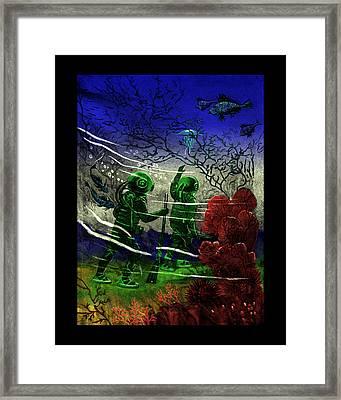 Many Wonders Framed Print by Jason Edwards