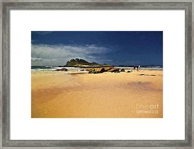 Manyana Beach Framed Print
