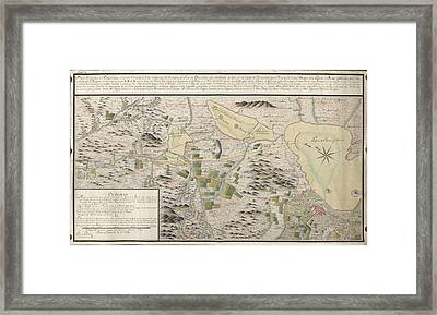 Map Of Cuautitlan River Framed Print by British Library