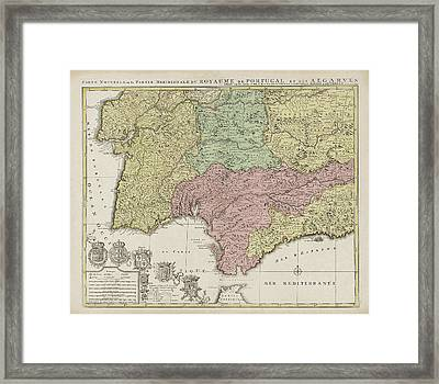 Ideas Map Of The South Of Spain On Emergingartspdxcom - Portugal map south