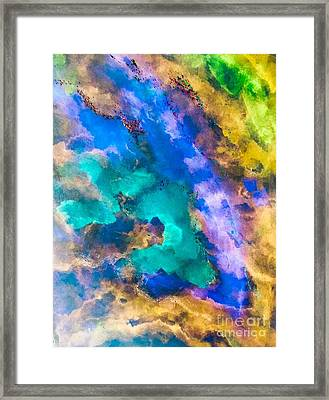 Map Of The Tribe Framed Print