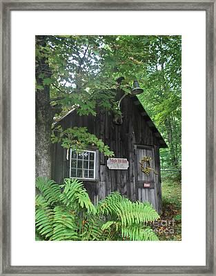 Maple Hill Farm Framed Print
