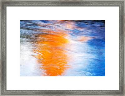 Maple Reflection Framed Print by Michael Hubley