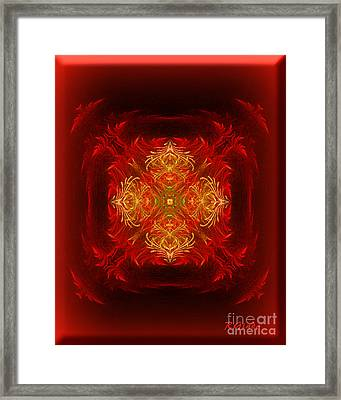 Mapping The Soul - Spiritual Abstract Art By Giada Rossi Framed Print by Giada Rossi