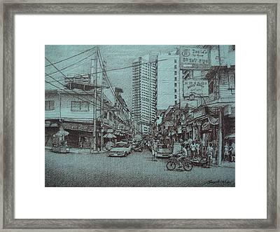 Mapua Street Framed Print by Hezekiah Lopez