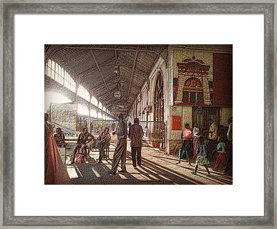 Maputo Railway Station Framed Print