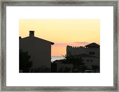 Framed Print featuring the photograph Mar De Cortez Morning by Dick Botkin