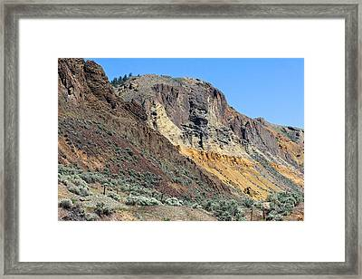 Mara Hill Framed Print by Michael Russell