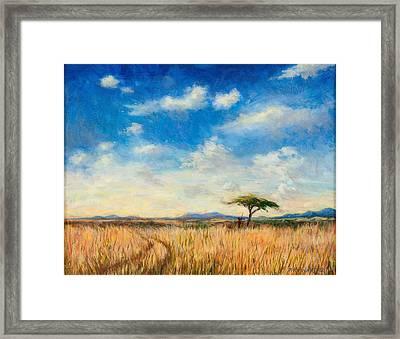 Mara Landscape Framed Print