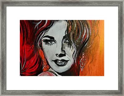 Mara Framed Print by Sandro Ramani