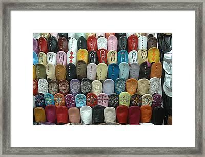 Marakech Old Market Framed Print by Ali ArtDesign