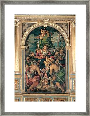 Marascalchi Pietro, Our Lady Of Mercy Framed Print