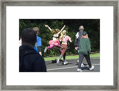 Marathon Grand Jete  Framed Print by Daniel Furon