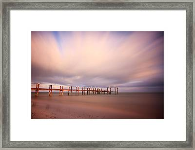 Marathon Key Long Exposure Framed Print
