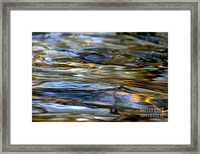 Marbeled Movement Framed Print by Neal Eslinger