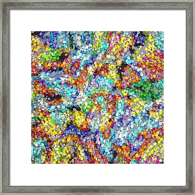 Marble #1 Framed Print by George Curington