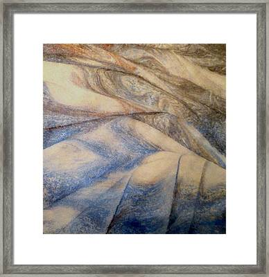 Marble 12 Framed Print by Mike Breau