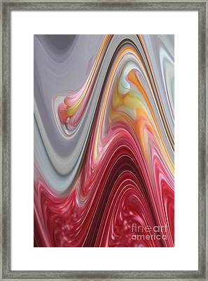 Marble Framed Print by The Art of Alice Terrill