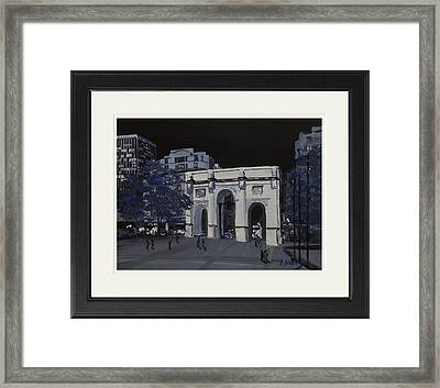 Marble Arch  London Framed Print by Darren Andrews