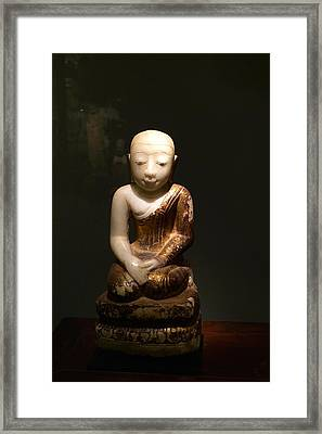 Buddhist Figure   Framed Print