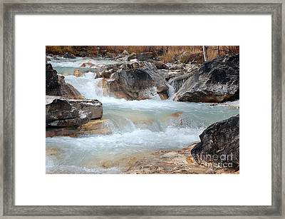 Marble Canyon Framed Print by Bob and Nancy Kendrick