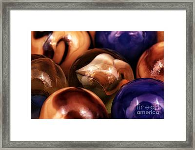 Marble Choices Framed Print by John Rizzuto