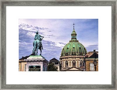 Marble Church - Copenhagen Denmark Framed Print by Jon Berghoff