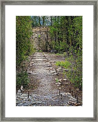 Marble Mill Remains Framed Print by Ken Smith