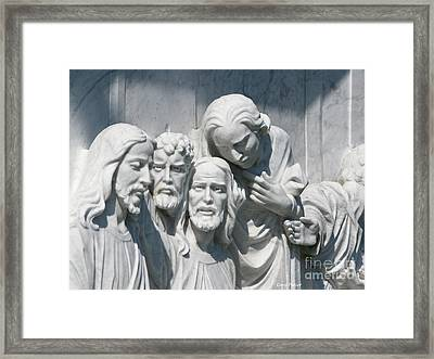 Marble Work Framed Print by Greg Patzer