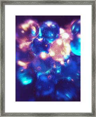 Marbled - Abstract Framed Print by Steve Ohlsen