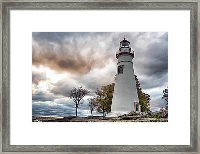 Marblehead Lighthouse Framed Print by Mary Timman