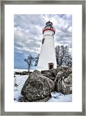 Marblehead Lighthouse Framed Print by Renee Sullivan