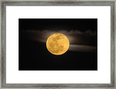 March Full Moon Framed Print