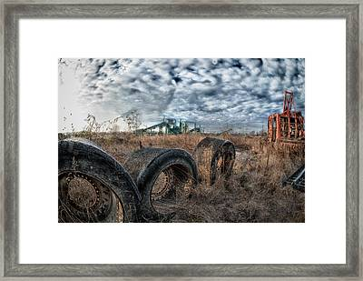 March Of The Wide Walls Framed Print