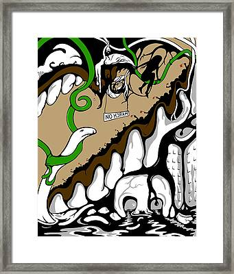 March On Framed Print by Craig Tilley
