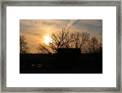 March Sunrise1 Framed Print by Jennifer  King